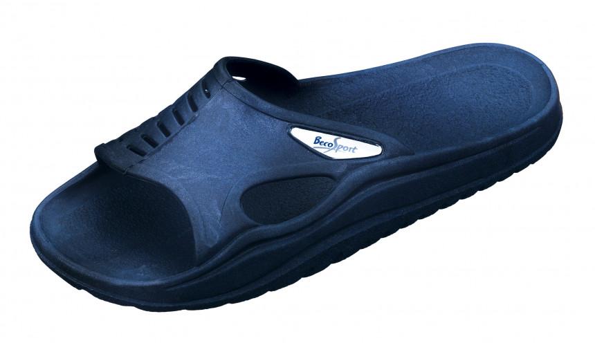 Beco Slipper, unisex, Slipper, azul marino/azul, 39
