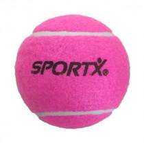 SportX Jumbo pelota de tenis Rosa L