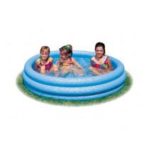 Intex Crystal azul Pool 114X25