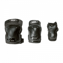 Roces - Protectores de 3 envases Ventilated - Black