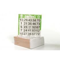 Longfield conjunto de 500 cartones de bingo