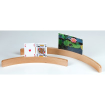 Longfield titular de la tarjeta de madera
