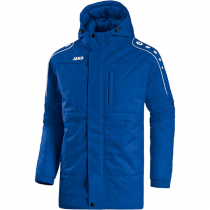 Jako Active Coach Jacket - joven - Royal / Blanco