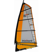 Blokart Vela 3.0m completa - Naranja