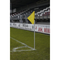 UEFA Indicador de la esquina White Pole 30 (Incluye Spring )