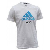 Adidas Camiseta Judo - Unisex - Azul / Blanco