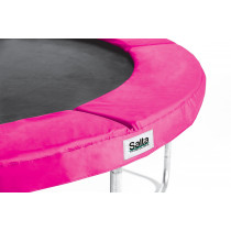Salta 8 pies Disport redondo de seguridad Pad - 244 cm - rosa