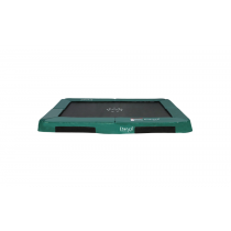 Enterrada Hi-Flyer 1075 Trampolín - 300 cm x 230 cm - verde