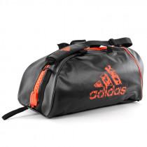 Adidas Super Boxing Sports Bag - Negro / Naranja