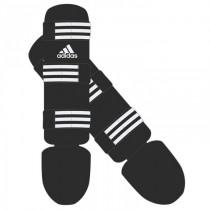 Adidas Good Espinilleras - Negro / Blanco