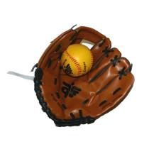 Marrón Guante y bola de béisbol